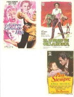 3 Carteles De Cine Diferentes.10 - Andere Sammlungen