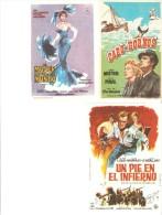 3 Carteles De Cine Diferentes.12 - Autres Collections