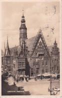 AK Breslau/Wrocław - Rathaus - Marktstände - 1937 (6185) - Schlesien