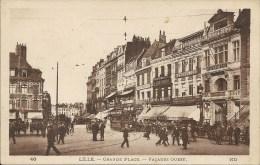 LILLE : Grande Place - Facades Ouest - RARE VARIANTE - Lille