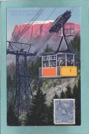 SUDTIROL - DIE  ELEKTR. SCHWEBEBAHN  -  BOZEN 265 M. -  KOHLERN  1177 M.  -  1914  - - Bolzano (Bozen)