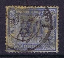 Deutsche Reich 1872 Mi 13 Used Federzug + Stempel - Deutschland