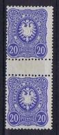 Deutsche Reich 1880 Mi 42 A/AA MNH/** Signed/signiert BBP Zwischensteg Paare ZS  Cat Value 2500 Euro - Germany
