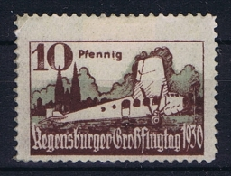 Deutsche Reich 1930 Airmail Regensburger Grossflugtag - Germany