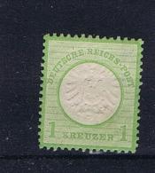 Deutsche Reich: 1872 Mi 23 MH/* - Ungebraucht