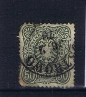 Deutsche Reich: 1877 38 B Used Dunkel Grun - Deutschland