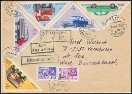 USSR 1967, Registered Airmail Cover Leningrad To Veenhusen - 1923-1991 URSS