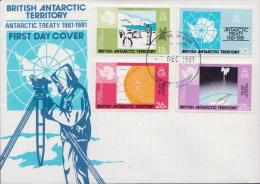 British Antartctic Territory Set On FDC - FDC