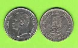 VENEZUELA - 25 Centimos 1987  KM50 - Venezuela