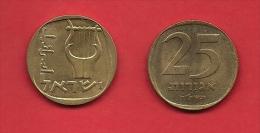 ISRAEL, 1960-1979,  Circulated Coin, 25 Agorot, Km 27  C1702 - Israel