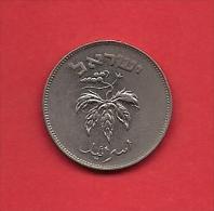 ISRAEL, 1949-1954,  Circulated Coin,50 Prutah, Copper Nickel, Km 13.1  C1704 - Israel