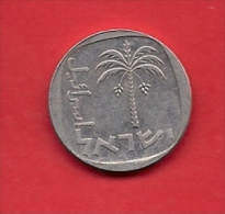 ISRAEL, 1977-1980,  Circulated Coin, 10 Arogot, Km26B,  C1711 - Israel