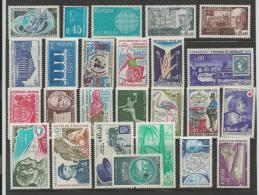 FRANCE, 1969-1984, Mint Hinged Stamp(s) ,25 Different #13171 - France