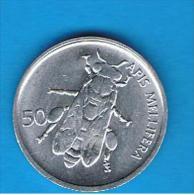 ESLOVENIA -  50 Stotinov 1993 - Animal Coin - Slovenia