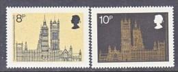 GREAT  BRITAIN  705-6    **   PARLIAMENT - 1952-.... (Elizabeth II)