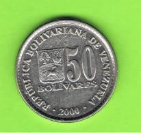 VENEZUELA -  50  Bolivar   2000  KM82 - Venezuela