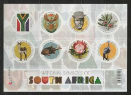 SOUTH AFRICA, 2012, Mint Never Hinged Stamp(s) Block ,Symbols Of South Africa, 2012-04-20 F 3247 - Unused Stamps
