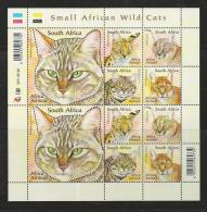 SOUTH AFRICA, 2011, Mint Never Hinged Stamp(s) Block ,Small Wild Cats, 2011-02-04 F 3247 - Unused Stamps
