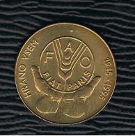 ESLOVENIA - 5 Tolarjev 1995  FAO - Eslovenia