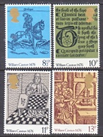 GREAT  BRITAIN  794-7    **   PAINTINGS  By  CAXTON - 1952-.... (Elizabeth II)