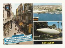 Cp, Colombie, Cartagena, Multi-Vues, écrite - Colombie