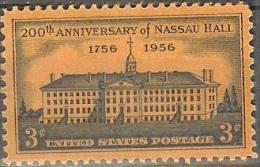 1956 3 Cents Nassau Hall, Mint Never Hinged - Stati Uniti