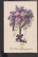 Postkarte Pfingsten ,  Blumen - Pfingsten