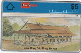 MALAYSIA(L&G) - Rong Sri Hall, CN : 209F, Used