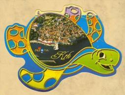 TURTLE * TORTOISE * SEAHORSE * FISH * ANIMAL * KRK * CROATIAN ISLAND * Viza 10152-5 * Croatia - Tortugas
