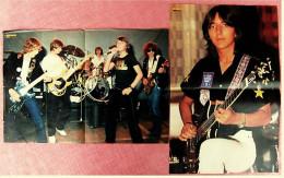 2 Kleine Musik Poster  Gruppe Teens ( Robby Bauer ) -  1 Rückseite : Louis De Funes ,  Von Bravo Ca. 1982 - Plakate & Poster