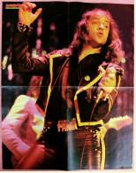 Musik-Poster  -  Udo Lindenberg  -  Rückseite : James Dean  -  Von Bravo Ca. 1982 - Plakate & Poster