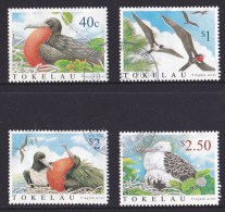Tokelau 2004 Lesser Frigatebird Set Of 4 Used - Tokelau