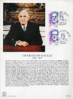 ★ FRANCE - DOCUMENT - CHARLES DE GAULLE - Postdokumente