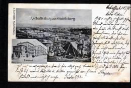 ASCHAFFENBURG VOM GODELSBERG - SOLDIERS + KASERNE (1358) - Aschaffenburg