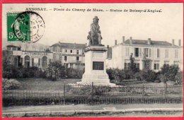 CPA 07 ANNONAY Place Du Champ De Mars Statue De Boissy D' Anglas - Annonay