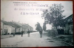 52  DAMMARTIN  ROUTE DE MEUSE  CACHET OBLITERATION HOPITAL AUXILLIAIRE - Frankreich