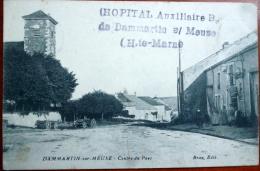 52 DAMMARTIN SUR MEUSE  CENTRE DU PAYS  CACHET OBLITERATION HOPITAL AUXILLIAIRE - Frankreich