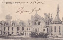 """Finistére Concarneau  """" Karten Bost Serie Chateau De Bretagne  """" Chateau De Keriollet """"  Precurseur - Concarneau"""