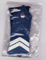 2 épaulettes Police CRS -- Femme -- Gardien Titulaire -- Neuves (DD) - Police & Gendarmerie