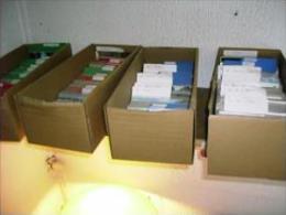 Gros Lot 5500 CPA Dont 3 Albums Toute Sous Protection Plastique + 2000 CPSM + 3 Albums Avec Des Timbres - 500 Postales Min.