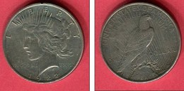 USA DOLLAR 1922 TB/TTB 28 - Emissioni Federali