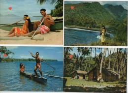 39411-ZE-TAHITI-----Lot De 8 CPM Diverses - Tahiti