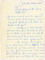 09107 KATANGA GUERRE 1961 Lettre Manuscrite D´un Militaire Belge Datée De Mituaba - GF - Manuscrits