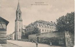 GERMERSHEIM - KATH. KIRCHE MIT KLOSTERKASERNE - Germersheim