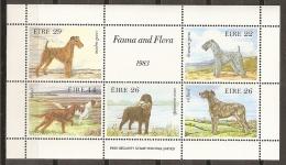 ANIMALES - IRLANDA 1983 - Yvert #H4 - MNH ** - Perros