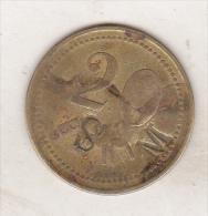 Romania - Old Token - Vetresti-Herastrau - Fabrica De Cherestea - 20 Bani - Tokens & Medals