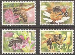 INSECTOS - THAILANDIA 2000 - Yvert #1912/15 ** - Honeybees