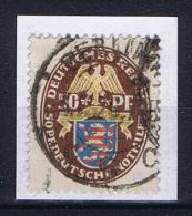 Deutsche Reich, Mi 401 Used 1926 Signed/signiert/ Approvato , Right Top Is Weak - Germania