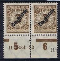 Deutsche Reich, Mi DM 99 MNH/** HAN A + HAN U - Officials