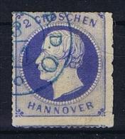 Deutsche Reich, Hannover Mi 24 Used - Hannover